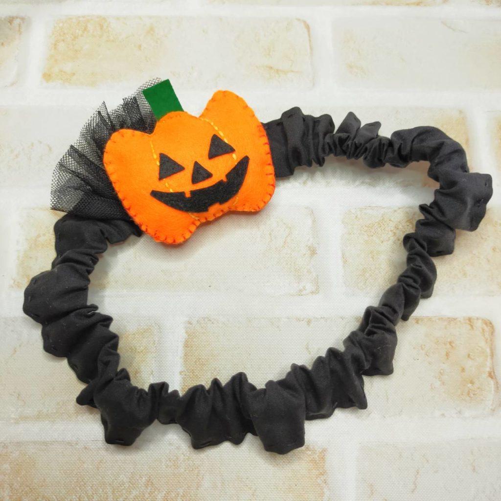 ハロウィンヘアバンド かぼちゃ Halloween