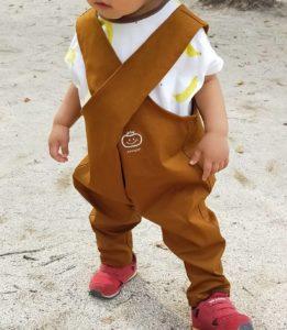 子ども服 クロスサロペット 80サイズ