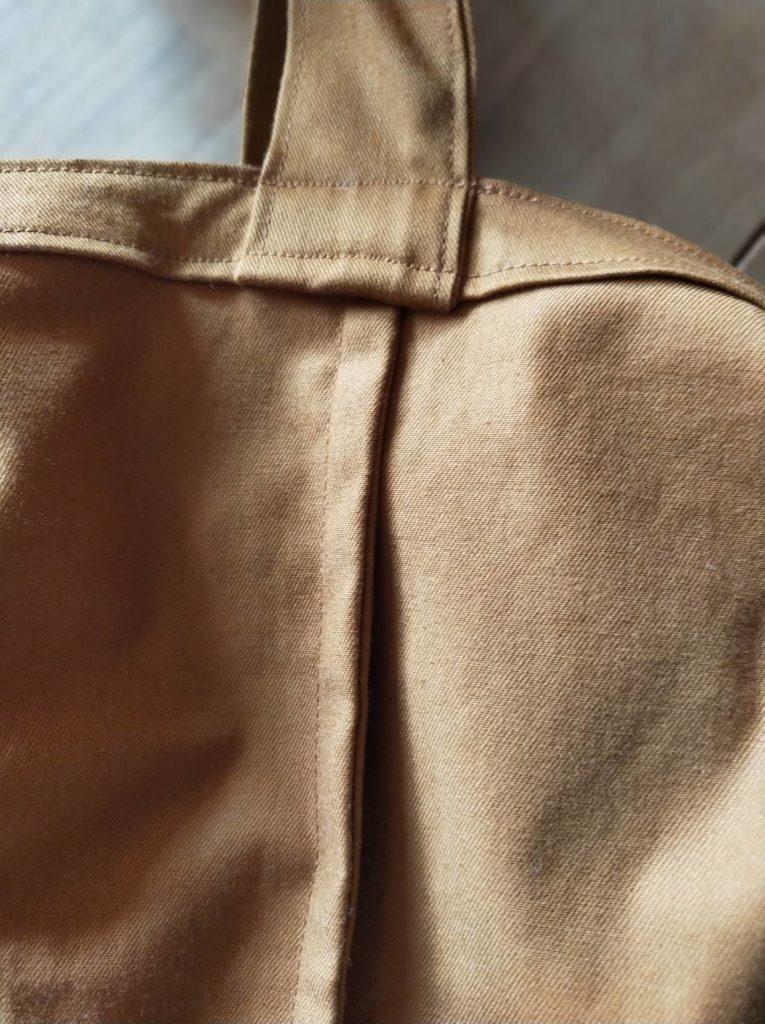 ショルダーマイバッグ 作り方 A4サイズ